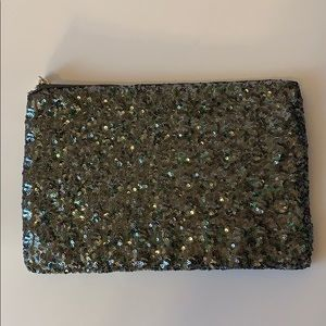 Julep sequin party clutch. NWOT.